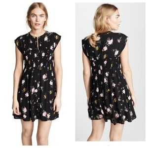 nwt // free people greatest day mini dress